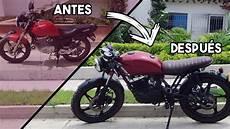 Moto Cafe Racer Antes Y Despues