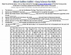 galileo galilei biography worksheet free printables for science for kids