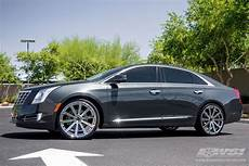 2014 cadillac xts with 22 quot gianelle santoneo in chrome