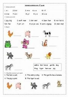 worksheets on animals for grade 1 14265 animals 2nd grade esl worksheet by annaj
