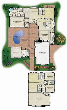 single story house plans with courtyard courtyard floorplans floor plans and renderings 169 abd