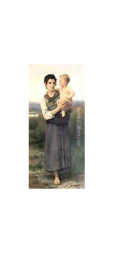 de bain 105819 after the bath painting reproduction by william adolphe bouguereau niceartgallery