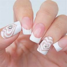 beautiful white tip nails designs for 2018 fashionre