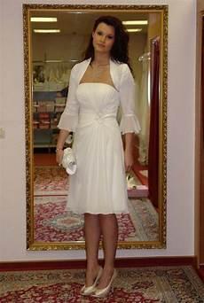 Standesamt Kleid Mit Bolero Jacke Hochzeit Kleid Mit