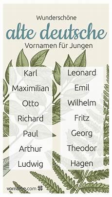 Alte Deutsche Vornamen - 23 cool alte deutsche vornamen jungen inneneinrichtung home