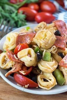 Tortellini Salat Rezept - pizza tortellini salad for crust