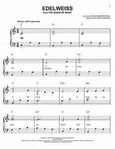 edelweiss easy piano sheet music free edelweiss sheet music by rodgers hammerstein easy piano 24174