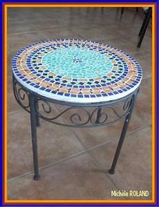 table mosaique marocaine table de lit