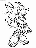 Sonic Coloring Pages  Disney For Kids