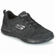 Flat Shoes R 30 skechers flex appeal high energy black free delivery