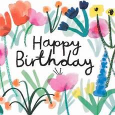 Gratis Malvorlagen Happy Birthday Wrap Happy Birthday Floral Card Greer Chicago