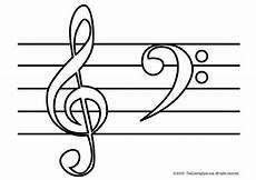 ausmalbilder musiknoten ausmalbilder malvorlagen vorlagen
