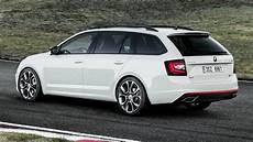 2017 Skoda Octavia Rs Combi On The Race Track