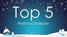 top 5 weihnachtslieder 2016