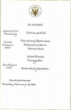 Cottage Dinner Menu by Pin On Jackie Kennedy S White House Menus