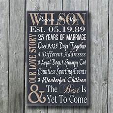 Gift Ideas For 25th Wedding Anniversary For Husband