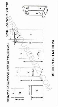 woodpecker house plans woodpecker house plans