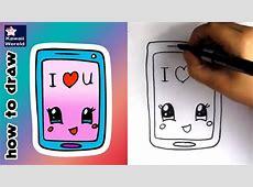 HOE TEKEN JE EEN KAWAII TELEFOON? Leren Tekenen Voor Kids