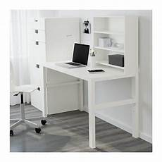 P 197 Hl Desk With Add On Unit White Ikea