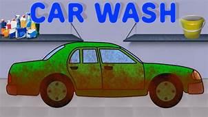 CAR WASH Carros Para Crian&231as  YouTube