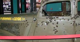 Bonnie And Clyde Death Car On Display