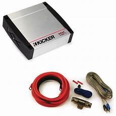 400 watt lifier kit kicker kx400 1 400w class d mono amplifier w 8 gauge 400 watt amp install kit ppackage 1606