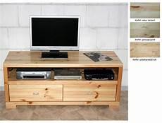 Tv Möbel Holz - massivholz tv lowboard 120cm tv m 246 bel kiefer natur