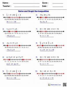 algebra 2 worksheets equations and inequalities worksheets