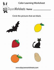 learning colors worksheets for kindergarten 12774 free preschool color learning worksheet with images color worksheets for preschool