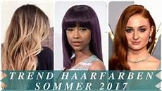 Trend Haarfarben Sommer 2017