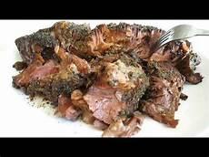 rinderbraten rezept einfach roast beef easy cooker recipe poormansgourmet