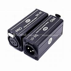 Audio Loop Noise Isolater Signal by Signal Channel Ground Loop Isolator Audio Noise Filter