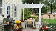 Terrasse Dekorieren Ideen - fall patio decorating ideas