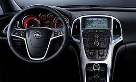 2010 Opel Astra Interior Unveiled New Gallery With 45