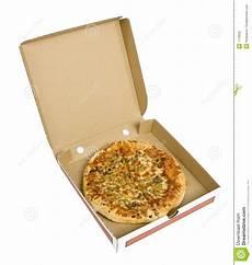 Pizza In Cardboard Box Stock Photo Image Of Obesity