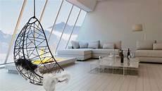 h 228 ngesessel in einem ger 228 umigen wohnzimmer mit bioethanol
