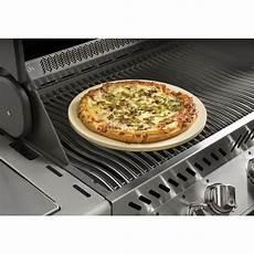napoleon grill pizzastein mit spie 223 en