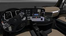 ets 2 mercedes actros mp4 and interior v 2 2
