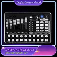 Bakeey Bluetooth Sound Card Live Sound by H9 Bluetooth Live Sound Card For Tiktok Gaming