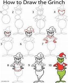 Grinch Malvorlagen Comic Rentier Zeichnen Lernen In 5 Einfachen Schritten Www