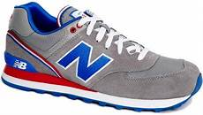 new balance 574 stadium jacket trainers in gray for