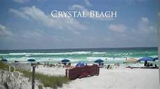 crystal beach in destin florida youtube