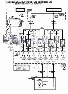 95 chevy camaro wiring diagram 4th lt1 f tech aids