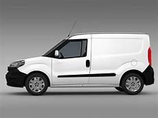 fiat doblo cargo 263 2015 3d model buy fiat doblo cargo