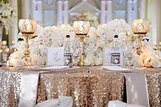 wedding ideas how to decorate with sequins glitter