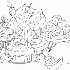cute cupcake coloring pages coloring home