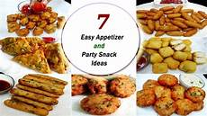 7 easy appetizer and party snack ideas instant quick snack recipes youtube