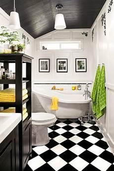 Black And White Bathroom Tile Ideas 10 Chic Black And White Bathroom Ideas