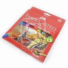 jual alat gambar melukis faber castell pensil warna