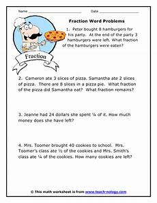 fraction word problems fractions decimals percent pinterest fraction word problems word